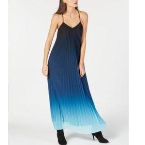 Bar III Glitter Glamour Blue Flame XL Dress.